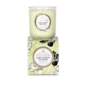 Voluspa Sake Lemon Flower 100 hr Candle